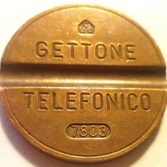 Телефонный жетон Италия 1978г.