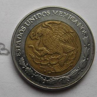 МЕКСИКА, 1 песо 1996 г. (биметалл).
