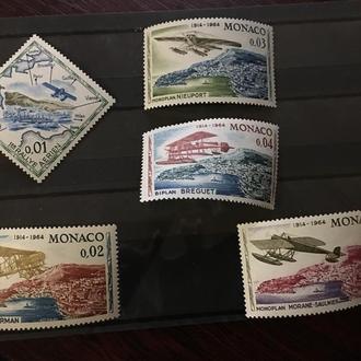 Монако авиа 1964 MNH