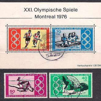 ФРГ, 1976 г., спорт, 21-е Олимпийские игры в Монреале