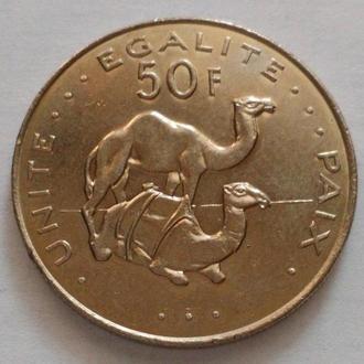 Джибути 50 франков 2010, UNC