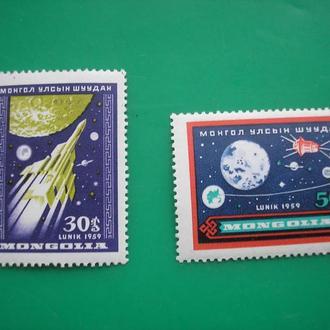 Монголия 1959 Космос MNH