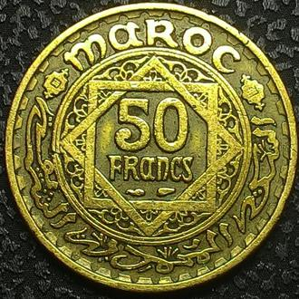 Марокко 50 франков 1952 год