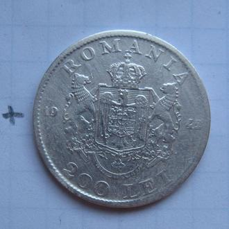 РУМЫНИЯ, 200 лей 1942 г. (серебро).