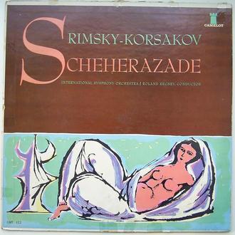 International Symphony Orchestra, ROLAND REGLEY – RIMSKY - KORSAKOV Scheherazade   LP VG/G