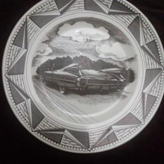 Фарфоровая тарелка Slice of Life