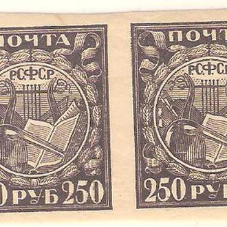 СССР  пара  1921г.   MNH  (см. опис.)