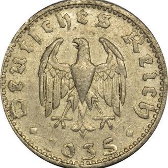 Німеччина 50 Pfennig 1935 D