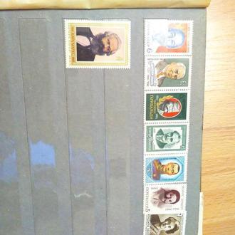 Лот марок СССР, подборка по тематике. Безупречный сохран!