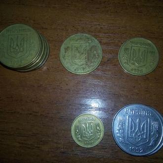 монеты 1992г.