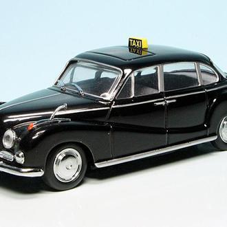 1/43 BMW 502 Такси. Schuco. РАРИТЕТ.