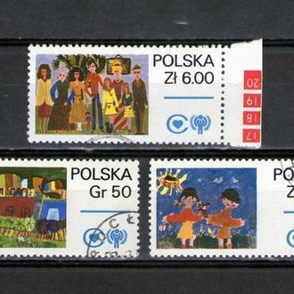 MA Польша, 1978 г. Детские рисунки