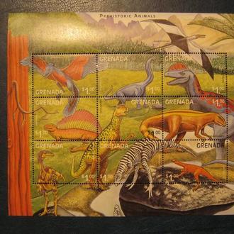 фауна дино динозавры гренада на т
