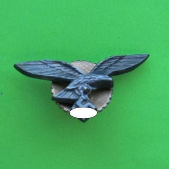 Петлица Люфтвафе латунь покрытие длин.37 мм. КОПИЯ