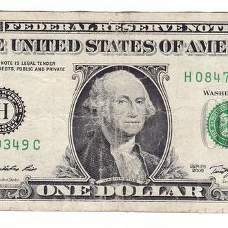 1 доллар США 2009 H, Сент-Луис Миссури FW
