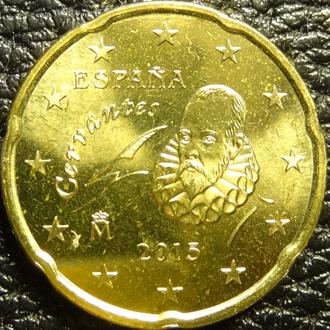 20 євроцентів 2015 Іспанія UNC