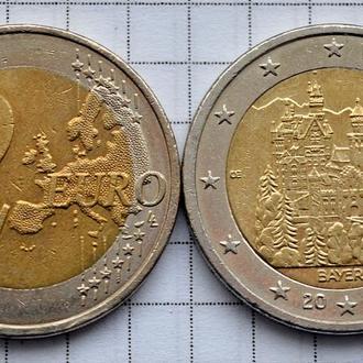 Германия 2 евро, 2012 - Бавария