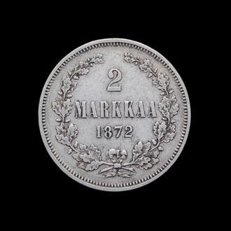 2 Марки 1872,(42) Финляндия