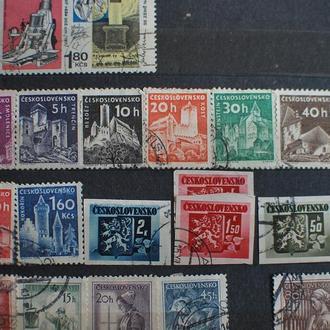 Коллекция почтовых марок германия, польша, чехословакия, япония и тд