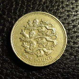 1 фунт 2002 Британія леви