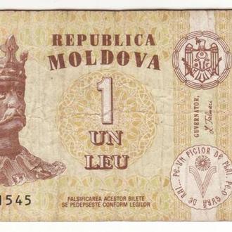 1 лей 2006 Молдова