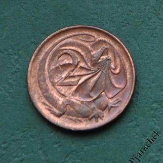 Австралия  2 цента 1982 г