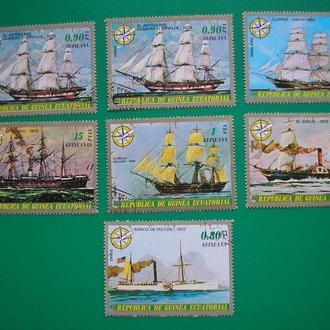 Гвинея 1976 Корабли * полн. сер.