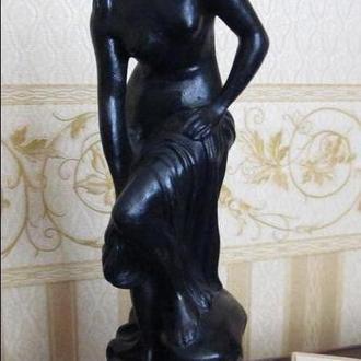 статуэтка купальщица, касли, чугун 1979г