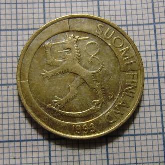 Финляндия, 1 марка 1993 г.