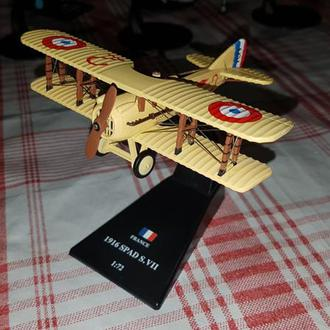 1/72 Amercom WWI Истребитель Spad S.VII