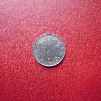 Турция 1 лира 1971