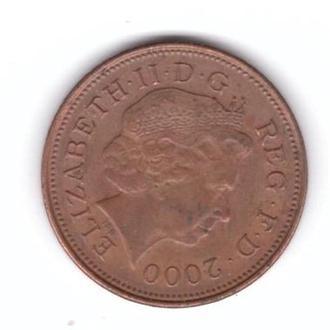 2000 Великобритания 2 пенни