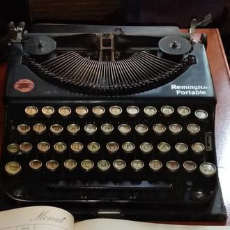 Печатная машинка Remington Portable