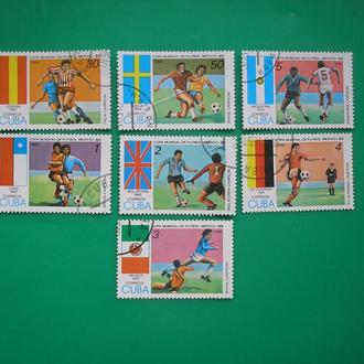 Куба 1985  Футбол
