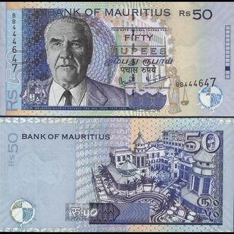 МАВРИКИЙ 50 рупий 2006г. UNC