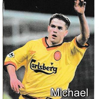 Календарик 2000 Спорт, футбол, Michael Owen