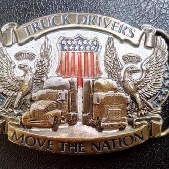 Пряжка ремня Truck Drivers. США. Оригинал!