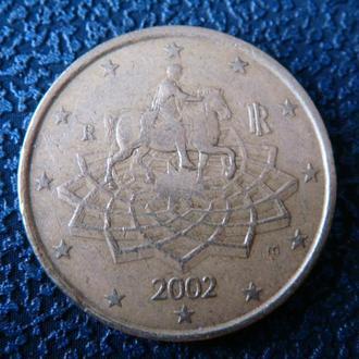 Италия 50 центов 2002