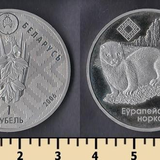 Беларусь 1 рубль 2006