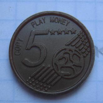 ЖЕТОН ИГРАЛЬНЫЙ (COPY PLAY MONEY).