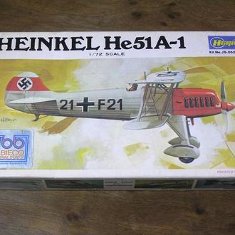Hasegawa Heinkel He 51А-1 1:72