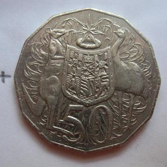 АВСТРАЛИЯ, 50 центов 2009 года.