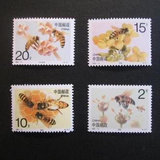 Китай,  MNH,  Пчелы