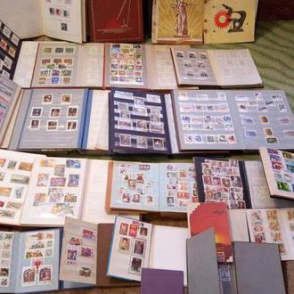 Продаётся коллекция марок. Более 20 кляссеров. Альбом 1 - грибы.