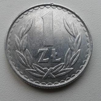 1 злотий 1983