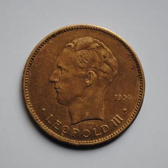 Бельгийское Конго 5 франков 1936 г., 'Колония Бельгии (1909-1949)'