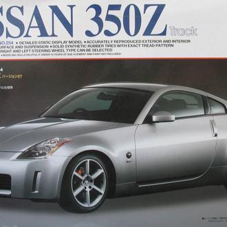 Сборная модель автомобиля Nissan 350Z 1:24 Tamiya 24254