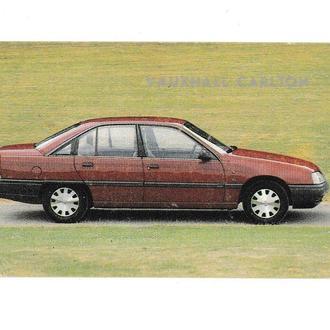 Календарик 1991 Авто Vauxhall