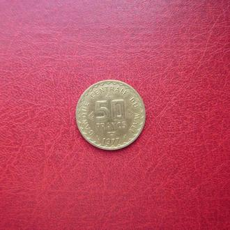Мали 50 франков 1977 Редкая
