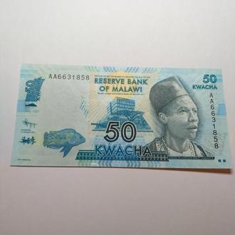 50 квача, Малави, 2012, пресс, unc, оригинал